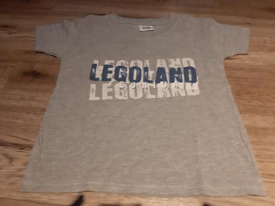 Remera Original Importada De Usa De Legoland De Nene Talle 6