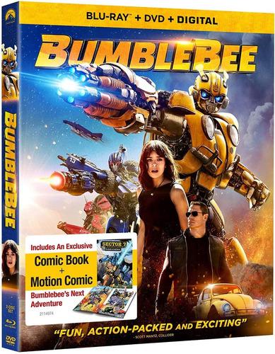 Blu Ray Bumblebee Transformers Dvd Original Marvel Dc
