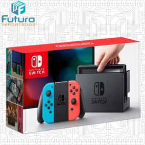 Nintendo Switch Neon Xaw40015578798 Americano Novo Lacrado