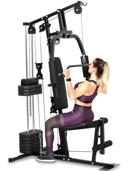 Estação De Musculação Academia Podiumfit Me100 - 50kg