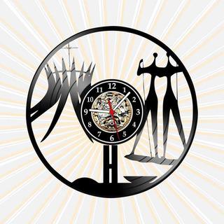 Relógio Brasília Distrito Federal Cidade País Brasil Vinil