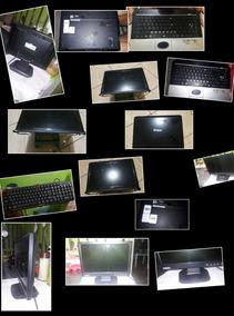 Kit :monitor,teclado E + Um Notbook C/defeito,porém Completo