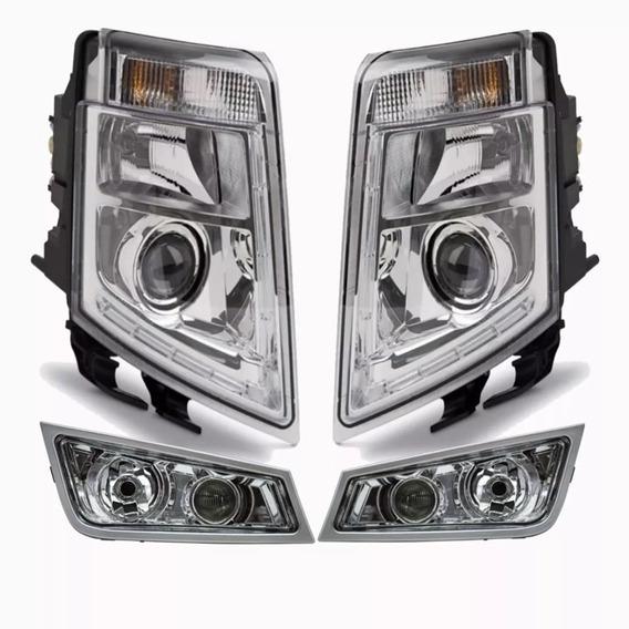 Kit Farol Volvo Fh Fm 2008 2009 2010 2011 2012 2013 2014