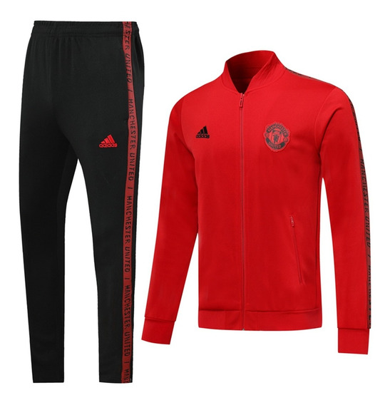 Conjunto Manchester United Casaca Buzo adidas