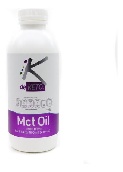 Aceite Mct Oil Importación Coco Fraccionado Keto Ceto 500 Ml