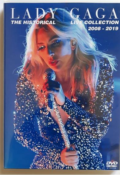 Lady Gaga Dvd Triplo Historical Live 2019 Frete Gratis