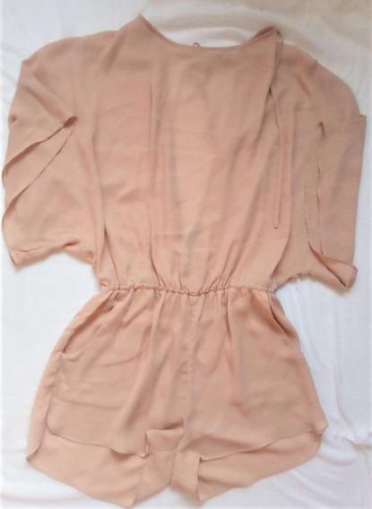 Vestido De Dama Estilo Jumpsuit Corto Talla S Marca Ark&co