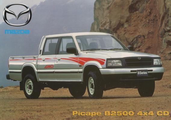 Folder Catálogo Folheto Mazda Picape B2500 4x4 Cd (mz002)