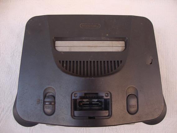 Nintendo 64 Com Defeito (sucata) Leia A Descrição Do Anuncio
