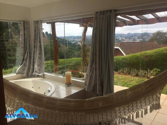 Casa Com 3 Dormitórios - 240 M² Por R$ 800.000 - Jardim Jaguaribe, Campos Do Jordão/sp Aceita Permuta Por Imóvel Em São José Dos Campos - Ca1807