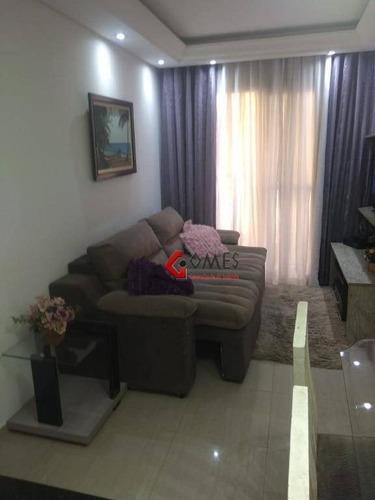 Apartamento Com 2 Dormitórios À Venda, 48 M² Por R$ 270.000,00 - Vila Gonçalves - São Bernardo Do Campo/sp - Ap2906