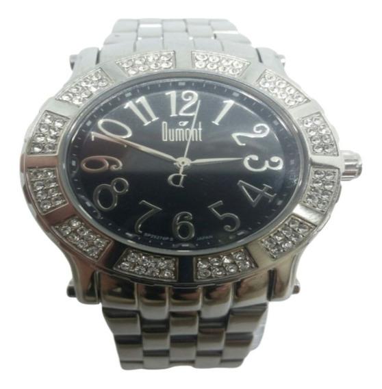 Relógio Dumont Feminino Fashion Prateado Sp25276ps