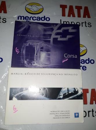 Manual De Instruções Corsa 1995 -4361 Cx76