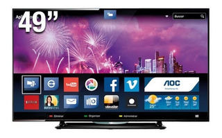Smart Tv Aoc 49 Led - Full Hd / Factura + Envío Gratis