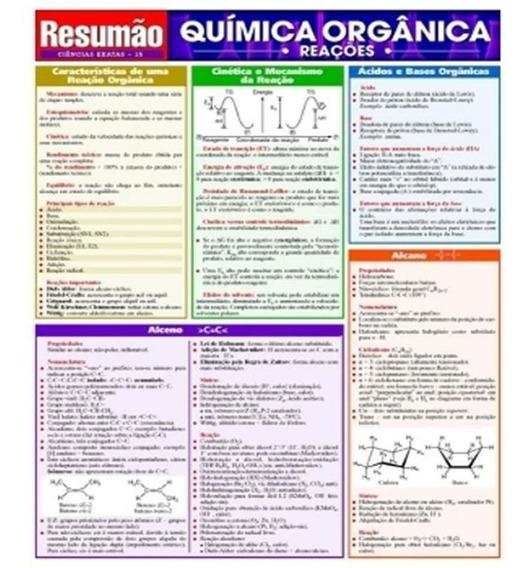 Quimica Organica - Reacoes - Vol 15