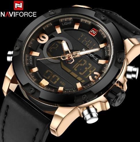 Relógio Masculino Naviforce Mod 9097 Original