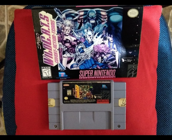 Wild Cats Super Nintendo