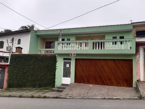 Imagem 1 de 18 de Ótimo Sobrado À Venda, 03 Dormitórios, 04 Vagas - Parque Jaçatuba - Santo André - 75554