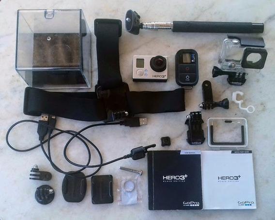 Câmera Gopro Hero 3+ Black Edition Wifi + Acessórios