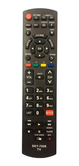 Controle Remoto Tv Panasonic Vieira Netflix Tc-32as600b