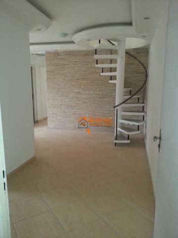 Imagem 1 de 6 de Apartamento Triplex Com 3 Dormitórios À Venda, 170 M² Por R$ 350.000,00 - Vila Rio - Guarulhos/sp - At0003