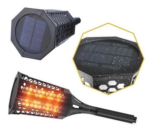 Antorcha Led Lámpara Solar Control De Luz 005