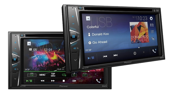 Dvd Player Automotivo Pioneer Avh-g218bt, 2-din - Tela 6.2