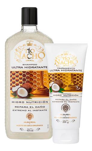 Pack Tio Nacho Coco Shampoo 415ml + Tratamiento 200g