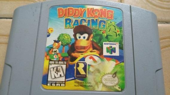 Nintendo 64 Jogo Diddy Kong Racing
