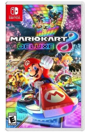 Mario Kart 8 Deluxe Em Mídia Física (em Português)