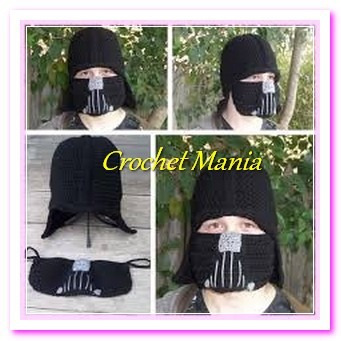 Gorro Tejido A Crochet Para Niño Star Wars Vader Mercado Libre