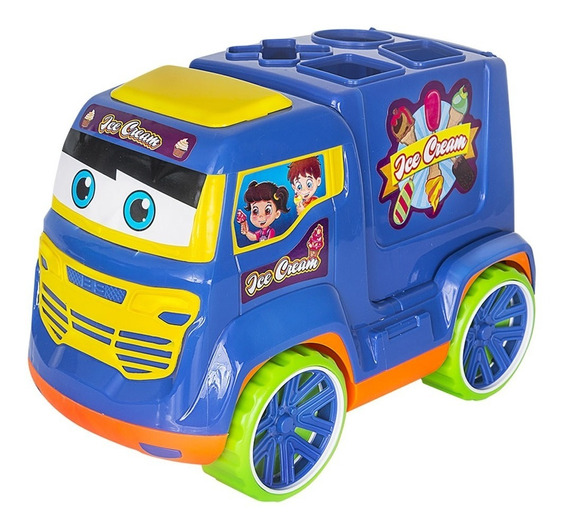 Truck Didatico 261 - Bs Toys