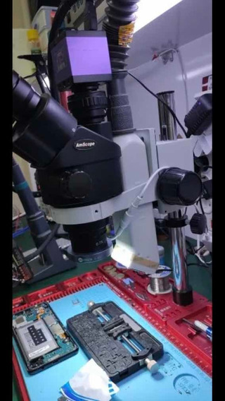 Exaustor De Fumaça Para Microscópio