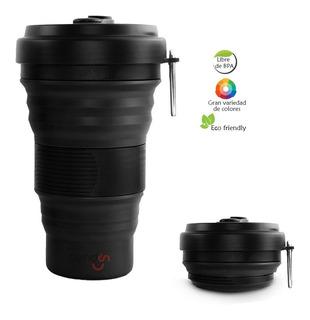 Vaso Termo Plegable Reutilizable Ecológico Práctico 550 Ml