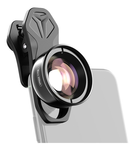 Imagem 1 de 10 de Lente Macro 4k Hd Para Celular Apexel Apl-hb100mm Universal