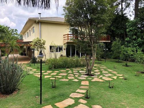 Imagem 1 de 30 de Sobrado Com 5 Dormitórios À Venda, 585 M² Por R$ 3.550.000,00 - Chácaras São Carlos - Cotia/sp - So2139