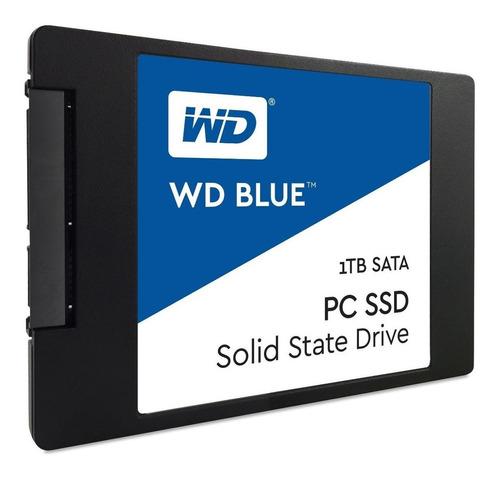 [ G ] Disco Sólido 1tb Ssd 2.5'' 7mm Wd Blue 3d Nand 1tb Sat