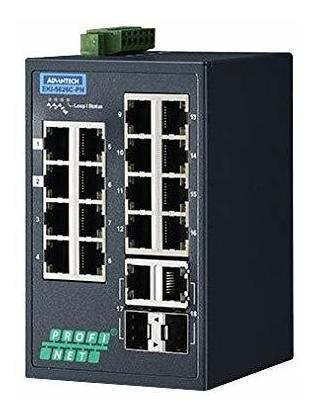 Switch Advantech Eki-5626ci-pn-ae Enet Rj45 Sfp 10 100mbps ®