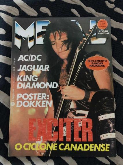 Roll Metal Exciter Jaguar King Diamond Dokklen Ozzy Cita For