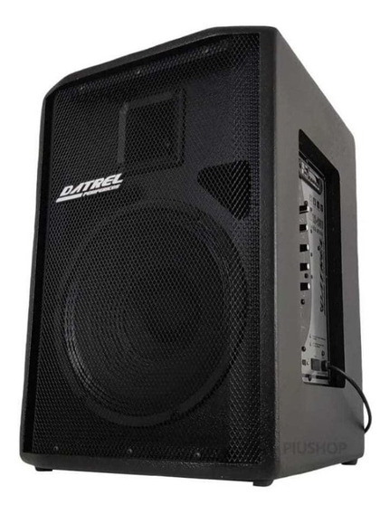 Caixa De Som Ativa Amplificada Bluetooth Usb 12 250w Bivolt