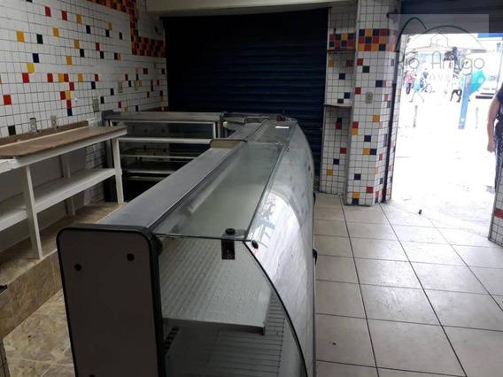 Loja Comercial - Rua São Clemente - Locação - Botafogo - Lo0127