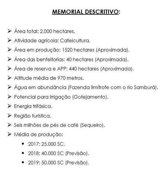 Fazenda Para Venda, Área Zona Rural Serra Da Canastra/mg R$ 110.000.000 - 36426