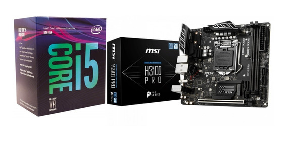 Intel I5 8400 E Msi H310i Pro 1151