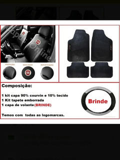 Kit Capa De Bancos Para Carro