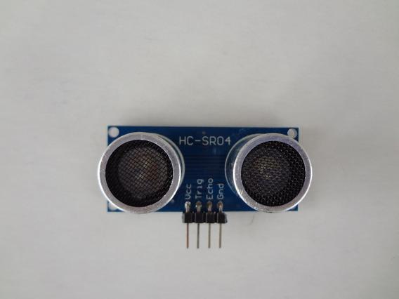 Sensor Ultrasonico Hc Sr-04 P/ Arduino - Pronta Entrega