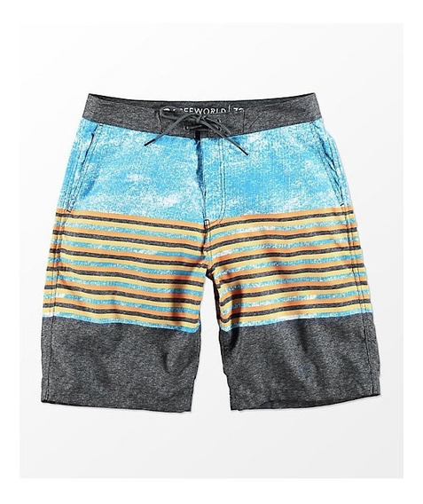 Boardshorts Freeworld Traje De Baño Playa Short Urban Beach