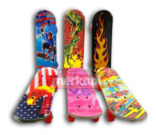 Skate Patineta Tabla Pequeña Niños O Niña Juguete Navidad