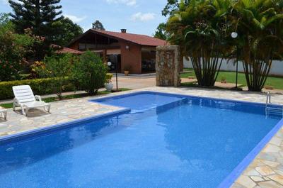 Chácara Com 4 Dormitórios À Venda Por R$ 1.800.000 - Chácaras Abc - São Pedro/sp - Ch0004