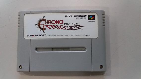 Jogo Super Nintendo Chrono Trigger Original- Frete Grátis
