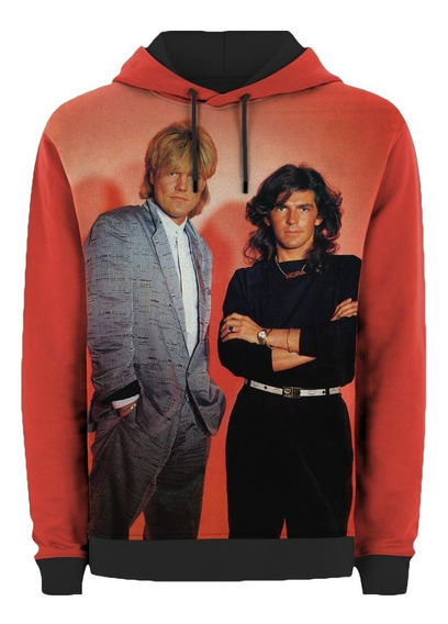 Moletom Capuz E Bolso Modern Talking Brother Louie Retro Mt
